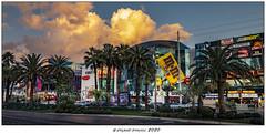 Tangerine skies - Las Vegas Sunset (Roland Bogush) Tags: best lasvegas sonyrx100mk7