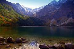 The beauty of nature knows no bounds (mark.paradox) Tags: lake nature landscape morskieoko europe poland beauty reflection colors scenic view inspiration scenery travel adventure water mountains hills altitude