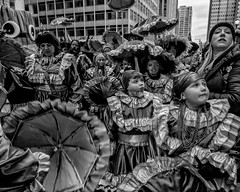 Mummers New Years Day Parade, 2020 (Alan Barr) Tags: philadelphia 2020 mummer mummersparade mummers newyear street sp streetphotography streetphoto blackandwhite bw blackwhite mono monochrome candid city people olympus omd em1ii