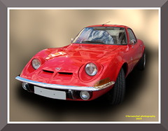 OPEL GT 1900 (1971) (fernanchel) Tags: car coche clasico classic vehiculo vehicle automovil elpuigdesantamaria gimp elpuig