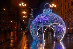 Evidence Of Orthodox Christmas - Свидетельство Рождества (Valery Parshin) Tags: canoneos70d canonefs24mmf28stm longexposure evening tripod saintpetersburg russia reflection ngc