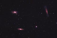 Leo Trio Galaxies (CajunAstro) Tags: leotrio m65 m66 ngc3628 qhyccd qhy183c televue televueoptics galaxy galaxies stars space astrophotography astrophoto telescope galaxygroup astrometrydotnet:id=nova3853650 astrometrydotnet:status=solved