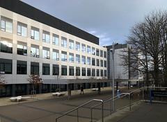 Science Hub South wing (Wendy:) Tags: ucd belfield iphone windows sciencehub south