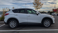 Mazda CX-5 (mlokren) Tags: 2019 car spotting photo photography photos pic picture pics pictures pacific northwest pnw pacnw oregon usa vehicle vehicles vehicular automobile automobiles automotive transportation outdoor outdoors mazda cx5 suv cuv crossover white