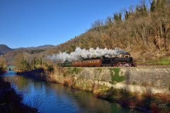 E se poi... (Paolo Brocchetti) Tags: paolobrocchetti rufina treno ferrovia bahn rail gr640 befana toscana nikon d810 24120 centoporte