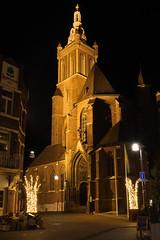 Sint Christoffelkathedraal. (wimjee) Tags: nikond7200 nikon d7200 roermond limburg nederland nacht night langesluitertijd longexposure afsdx1680mmf284eedvr kerk church kathedraal cathedral