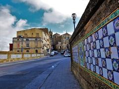 Caltagirone (fotoflo86) Tags: caltagirone bridge ponte church chiesa san francesco assisi tiles ceramic ceramica sicily sicilia italia italy italien