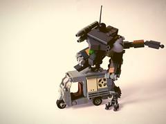 【Full Metal Tuk Tuk】 (Dead Frog inc.) Tags: full metal tuk rikshaw lego mech drone