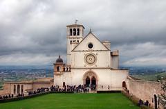Basilica of Saint Francis of Assisi (albireo 2006) Tags: basilicaofsaintfrancisofassisi stfrancisbasilica assisi italy italia umbria church