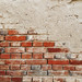 Detail Of Brick Wall. Urban wall texture for backgrounds.