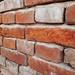 Detail Of Brick Wall. Closeup.