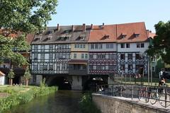 Erfurt: Krämerbrücke (Helgoland01) Tags: brücke bridge erfurt thüringen deutschland germany fachwerkhaus fluss river
