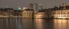 The Old and New The Hague ... (Photostreamkatwijk) Tags: denhaag nederland stadsfotografie stad avondfotografie hofvijver gebouwen water centrum hettorentje langesluitertijd musea thehague background buildings eveningphotography cityphotography architectuur holland