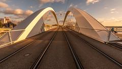 Ronald McDonald' s Bridge (Cyrille Gr) Tags: raymondbarre lyon mcdonald rhone pont