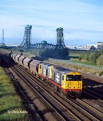 Heading For Boulby (chrissyMD655) Tags: middlesborough newport bridge teesside class 20 railfreight livery cleveland br