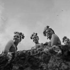 Murallas (RoryO'Bryen) Tags: cartagenadeindias rolleiflex28d kodaktrix iso400 roryobryen colombia film murallas noiretblanc