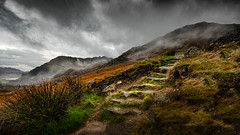 Nant Gwynant (Einir Wyn Leigh) Tags: light cloud weather landscape wales nikon rural rugged mountains seasons love lake beauty pleasure winter walking nature natural
