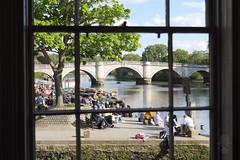 View with a room (SimplSam) Tags: bbcsex2020 london p1422717 panasoniclumixgh5 richmond street simplsamcom oilpainting river windowview bridge