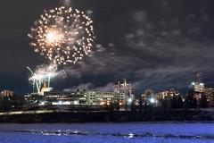 New year firework (drafiei1) Tags: edmonton edmontondowntown newyear 2020 firework alberta yeg yeggers yeg2020 nikon night nightphotography nikon2470 noflash northsaskatchewanriver