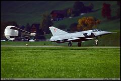 """MIRAGE III"" S J-2308 Fliegerstaffel16 Stans Buochs octobre 1999 (paulschaller67) Tags: mirageiii s j2308 fliegerstaffel16 stans buochs octobre 1999"