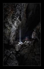 La Cubilla - Aporte superior en galería principal... (Sorginetxe (Iñigo Gómez de Segura)) Tags: cueva cave caving cavidad cantabría coladas lacubilla cubilla espeleología espeleofotografía espeleofotografo espeleotemas espelotema estalactita estalagmita speleophotography subterránea sima kobazuloa kobazulo karst karstification fotografíasubterranea formaciones iñigogomezdesegura ilunpeart leizea