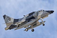 McDonnell Douglas A-4N Skyhawk - 27 (NickJ 1972) Tags: redflag nellis air force base airbase afb 2019 aviation mcdonnelldouglas douglas a4 skyhawk draken international n164em