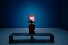 20010730 (felipe bosolito) Tags: art blue red person symmetry dark fuji xpro2 xf16f14 velvia
