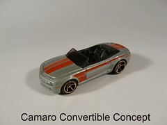 Hot Wheels 2011 - Faster Than Ever №T9856 → CAMARO CONVERTIBLE CONCEPT Malaysia 149/244 (Xerocomis) Tags: diecast model hot wheels 2011 faster than ever №t9856 → camaro convertible concept malaysia 149244