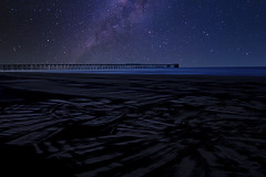 It's out there (Caleb4Ever) Tags: galaxy milkyway nightsky le longexposure pier outdoors national caleb4ever beach coast landscape sand nightshot steetleypier hartlepool uk northeast england