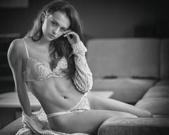 sensual black&white (keulefm3) Tags: bestportraitsaoi portrait porträt beauty sensual sinnlich sexy woman girl glamour