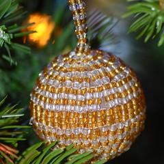 Beaded Christmas ornament from South Africa (stevelamb007) Tags: christmas ornament southafrica 100mmf28macro tokina d7200 nikon stevelamb