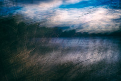 The Fishing Hole no.2 (DavidSenaPhoto) Tags: fujinon35mmf14 multipleexposure icm intentionalcameramovement impressionisticphotography water fuji pond xt2 lake waves fujifilm impressionism