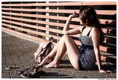 - - (Matías Brëa) Tags: calle street retrato portrait color mujer woman girl
