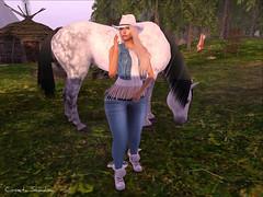 ❤ nice outfit by MONOMANIA (cometa shadow blog) Tags: monomania catwa maitreya bento mesh elikatira fashion style ranch horse