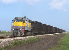 506, Belle Glade FL,  3 March 2019 (Mr Joseph Bloggs) Tags: ussc scfe south central florida express emd gp402 gp40 electro motive division clewiston bryant freight cargo merci railway railroad bahn zug train treno usa united states america belle glade 506