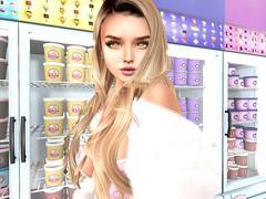 アイス買おう💖 (vparisv1225) Tags: firestorm secondlife life sl virtual vr girls reality 3d digital avatar women fashion beauty decor shopping event events maitreya
