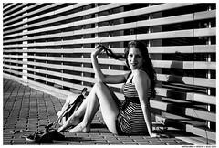 Say Goodbye to the Blues (Like You Mean It) (Matías Brëa) Tags: mujer woman girl model modelo retrato portrait blanco y negro black white bnw mono monochrome monocromo