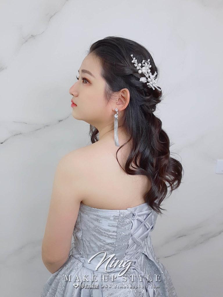 【新秘羽寧】新娘造型創作 / 女神風造型