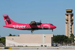 N401SV (320-ROC) Tags: silver silverairways n401sv atr42 atr42600 at46 atr kfll fll fortlauderdaleinternationalairport fortlauderdalehollywoodinternationalairport fortlauderdaleairport fortlauderdale
