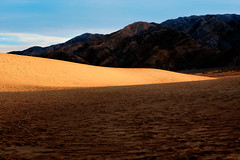 Light on sand (Sony J Thomas) Tags: landscape desert california light shadows mountains sand dune mesquite