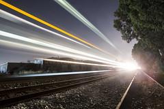lightspeed (eb78) Tags: ca california nightphotography npy longexposure lighttrail berkeley eastbay railroad explore