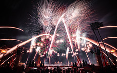 EPCOT Forever (zachclarke) Tags: epcot epcotcenter 2019 december disneyworld disney wdw waltdisneyworld themepark amusementpark nikon d5600 nikond5600 zachclarke2 zachclarke lakebuenavista orlando fl florida epcotforever fireworks illuminations harmonious