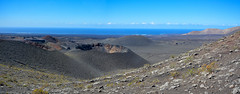 ... The Restaurant at the End of the Universe ... (wolli s) Tags: canaryislands krater vulkan crater hell lanzarote panorama volcano tinajo kanarischeinseln spanien hitchhiker galaxy stitched stitching nikon d7100