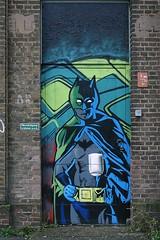 Batman (De Rode Olifant) Tags: spoorzone tilburg marjansmeijsters streetart mural batman