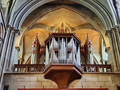 305 France - Bourgogne, Dijon, église Notre-Dame de Dijon (paspog) Tags: notredame églisenotredamededijon france bourgogne dijon august août 2019 orgue organ