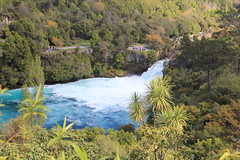 Overview of Huka falls (jpotto) Tags: newzealand taupo waikatoriver hukafalls waterfall aotearoa northisland