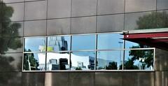 Distortion in HWW (wilma HW61) Tags: window raam reflectie hww shadow reflection wall ombra ombre finestra miroir schaduw fenêtre muur mirroring gevel spiegeling riflessione réflexion holland netherlands lines facade nederland holanda paysbas façade zwolle overijssel niederlande lijnen facciata nikond90 architecture europa europe outdoor architektur architettura architectuur paísesbajos paesibassi dwwg wilmahw61 wilmawesterhoud