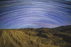 The Stars At Night Are Big And Bright, Deep In The Heart Of The Anza-Borrego Desert. (slworking2) Tags: anzaborrego anzaborregodesertstatepark stars california sandiego night longexposure desert startrails sequator