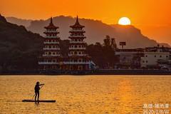 2020/1/8/W (雨完玩人) Tags: 蓮池潭 高雄 台灣 sunset taiwan wednesday kaohsiung efm55200mm