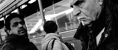 Happy days!! (Baz 120) Tags: candid candidstreet candidportrait city contrast street streetphoto streetcandid streetportrait strangers rome roma ricohgrii monochrome monotone mono noiretblanc bw blackandwhite urban life portrait people provoke italy italia grittystreetphotography faces decisivemoment